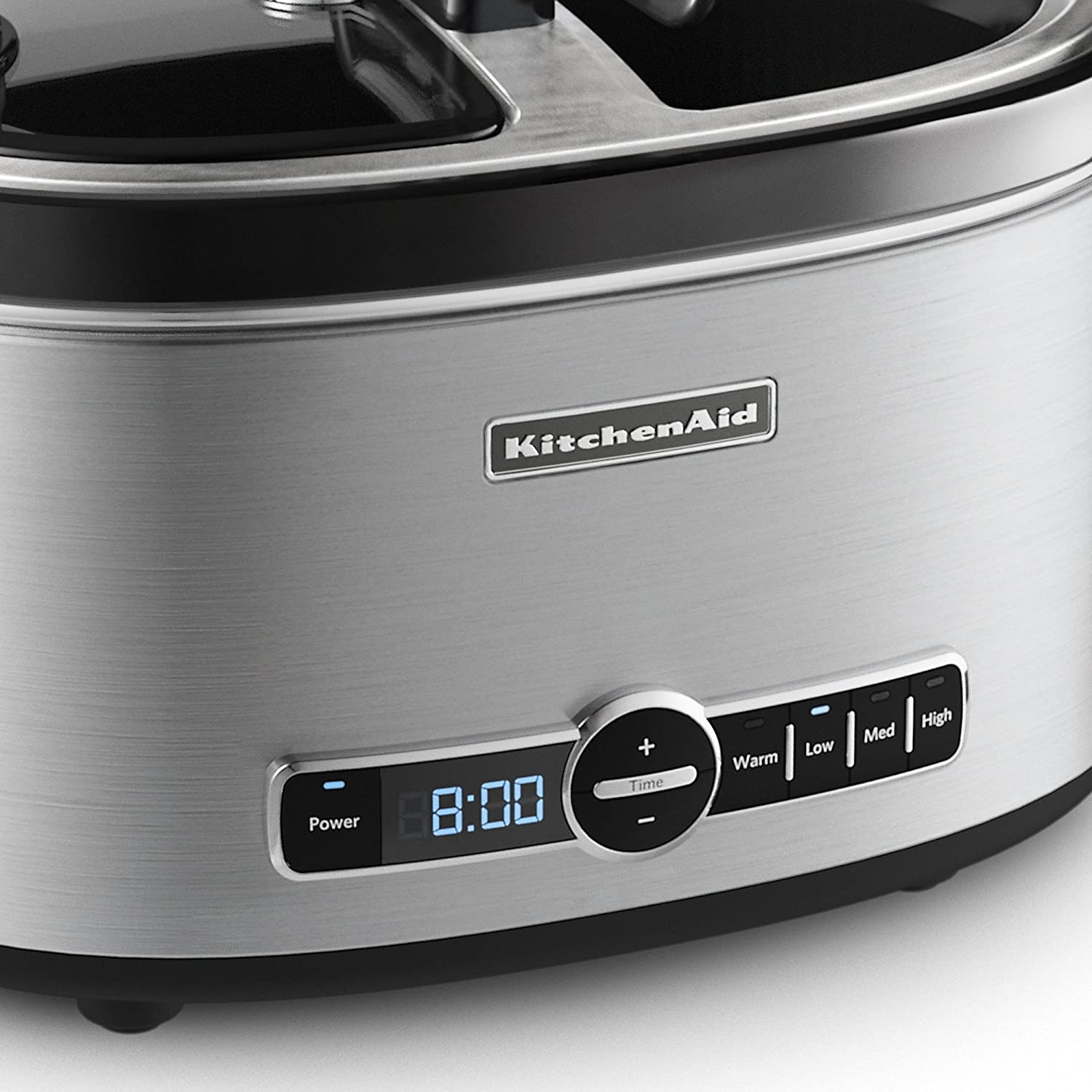 Superior Amazon.com: KitchenAid KSC6222SS Slow Cooker With Easy Serve Glass Lid, 6  Quart, Stainless Steel: Kitchen U0026 Dining