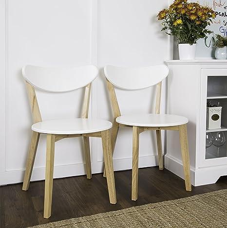 Walker Edison mobili retrò moderno sedie per sala da pranzo, in ...