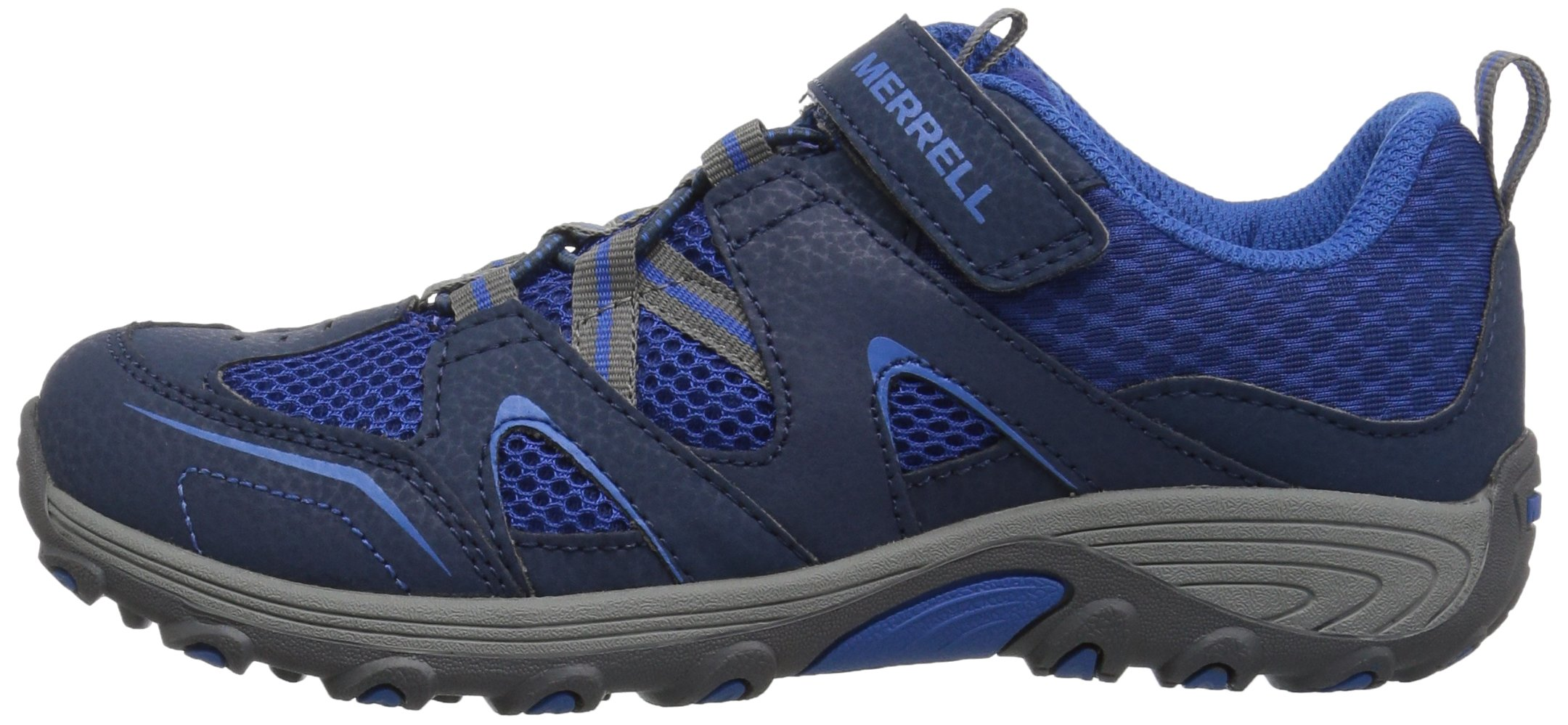 Merrell Trail Chaser Hiking Shoe, Navy, 4 M US Big Kid by Merrell (Image #5)