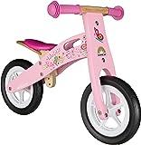BIKESTAR® 25.4cm (10 pouces) Bois Vélo Draisienne pour enfants ★ Couleur Rose