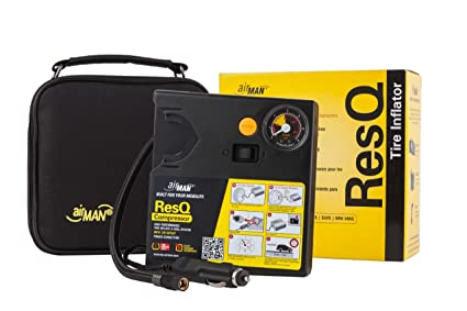 AirMan ResQ 51-051-011 Tyre Inflater: Amazon.es: Coche y moto