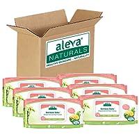 Aleva Naturals Bamboo Baby Sensitive Wipes, 432 Count