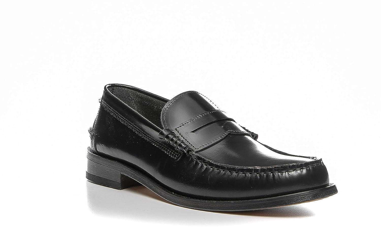 GANT - Mocasines de Piel Lisa para hombre negro negro 44, color negro, talla 44: Amazon.es: Zapatos y complementos
