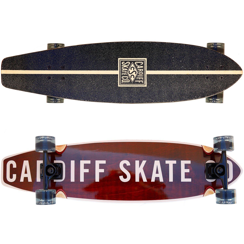 人気デザイナー Cardiff Skate Co. Cruiser Cardiff Longboard, Cardiff 36, Dark Maple Skate by Cardiff Skate B01C609VQA, 釣具のバスメイトインフィニティ:555dc24a --- a0267596.xsph.ru
