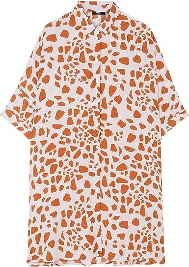 Parfois - Vestido Salmon - Mujeres - Tallas Única - Rosa: Amazon.es: Ropa y accesorios