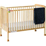 Alex Daisy Fisher Joy Baby Crib (Natural Wood)