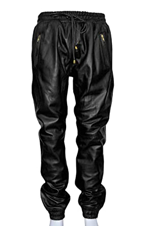 Leather trousers mens