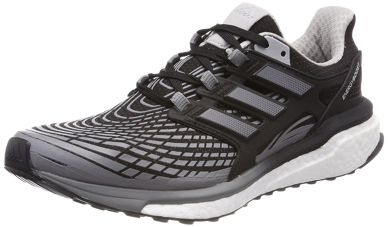 Adidas Energy Boost M, Zapatillas de Running para Hombre 45 1/3 EU|Negro (Core Black/Grey Three/Grey Two 0)