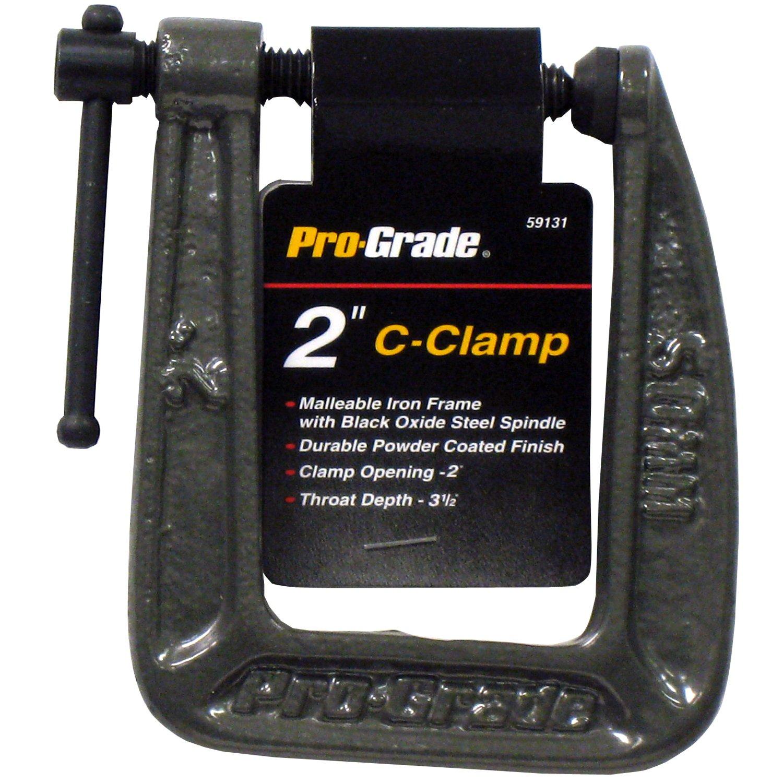 2-Inch x 31//2-Inch Pro Grade 59131 C-Clamp Deep Throat