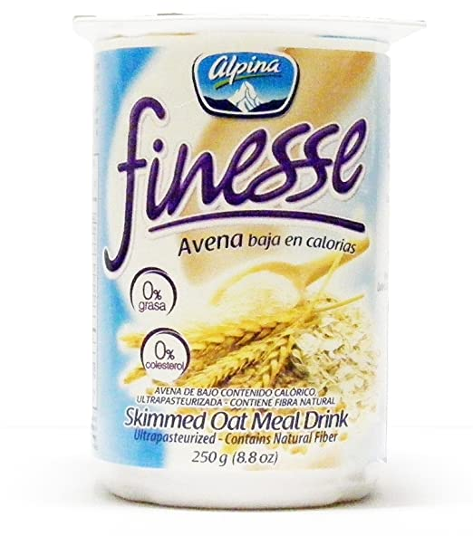 Alpina Finesse y avena bebida original (12 Pack) (6 + 6 ...