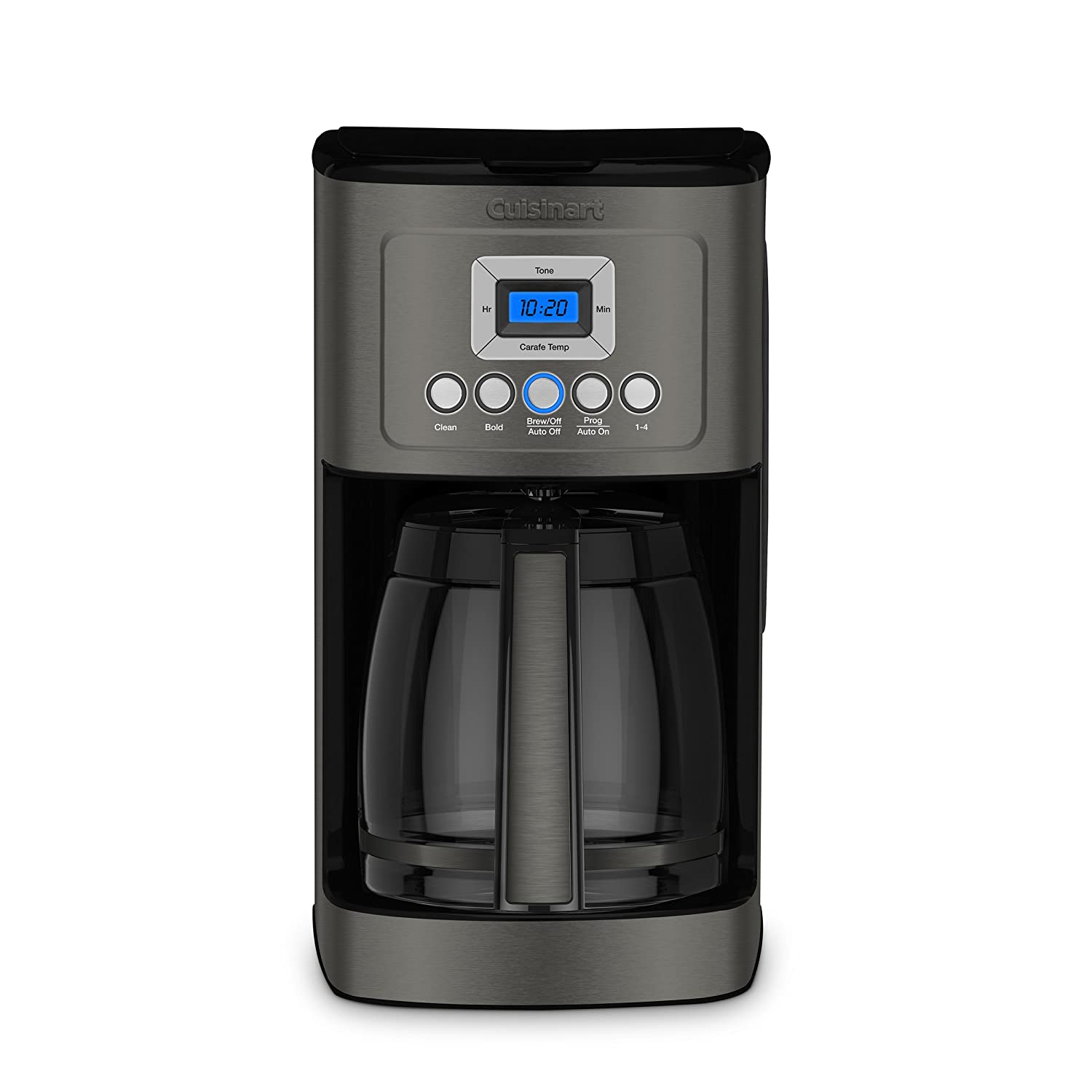 Cuisinart DCC-3200BKS Perfectemp Coffee Maker Black Stainless Steel