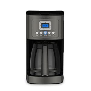 Cuisinart DCC-3200BKS Perfectemp Coffee Maker, Black Stainless Steel