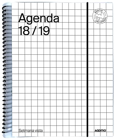Amazon.com : additio a141-sv - Agenda Universal Catalan 2018 ...