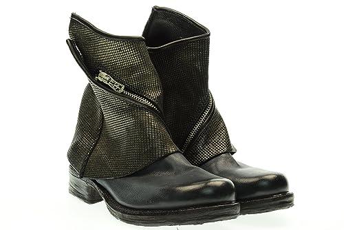 415135d1cfe A.S.98 mujer Botines 520234 41 Blu / nero: Amazon.es: Zapatos y complementos