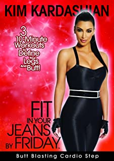 358cb525cfe95 Kim Kardashian  Fit In Your Jeans by Friday  Butt Blasting Cardio Step