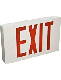 Commercial Lighted Exit Signs Amazon Com Lighting