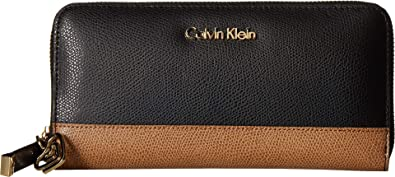 bd6f0b19968e Amazon.com  Calvin Klein Women s Mercury Zip Continental Wallet ...