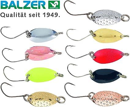 Balzer Forellenblinker Leaf 1,5g 2,5cm Forellenangeln UL Trout Blinker Spoon