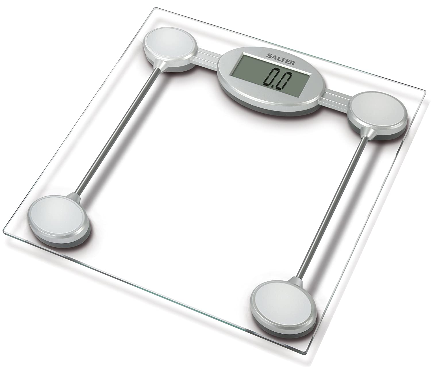 Batteries for bathroom scales - Amazon Com Salter Glass Electronic Bathroom Scale 9018ssv3r Health Personal Care