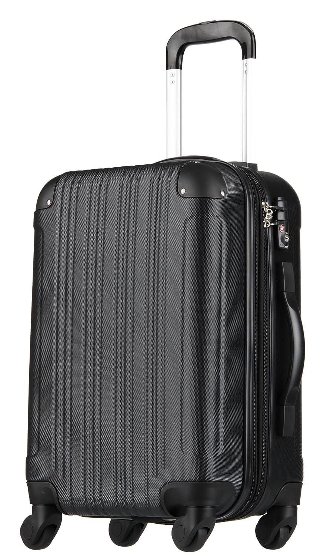 [アウトレット品]【レジェンドウォーカー】LEGEND WALKER スーツケース キャリーケース キャリーバッグ 拡張 機内持込 SS S M L サイズ ファスナー TSAロック ハードキャリー ハードケース W-5082-48 B07BQN3RVZ Lサイズ(7泊以上/88(拡張時102)リットル)|ブラック ブラック Lサイズ(7泊以上/88(拡張時102)リットル)
