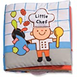 Melissa & Doug 9209 Soft Activity Baby Book - Little Chef