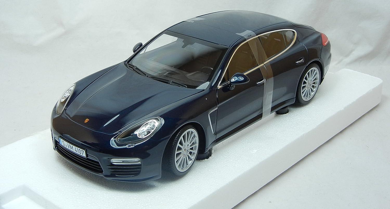 Amazon.com: Modellcar 1:18 Porsche Panamera Turbo S Bue Metallic Minichamps: Toys & Games
