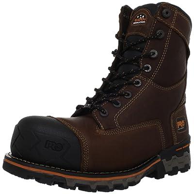 Timberland PRO Men's Boondock Waterproof Work Boot | Industrial & Construction Boots
