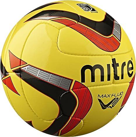 Mitre Pelota Profesional MAX Fluo V12: Amazon.es: Deportes y aire ...