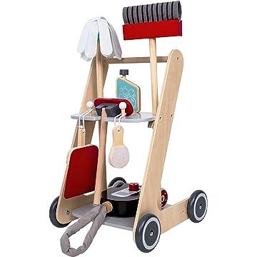 mini MMP Living Pretend Cleaning Cart