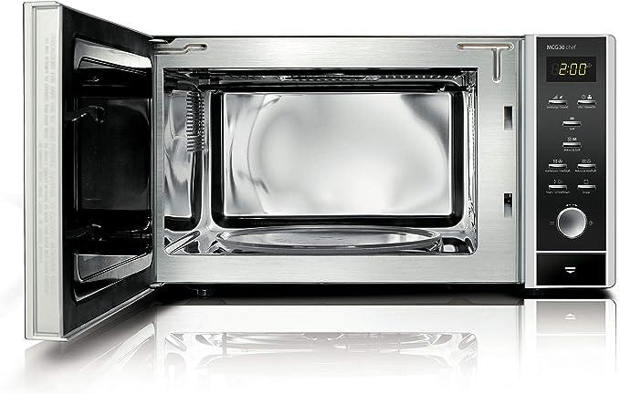 Caso MCG 30 Chef-Microondas, con convección y Grill, 900 W, 30 ...