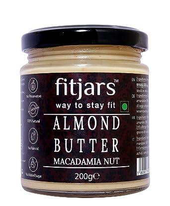 Fitjars Almond & Macadamia Nut Butter -200g℮