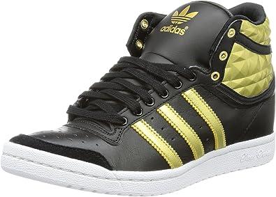 adidas Top Ten Hi Sleek Heel W Black