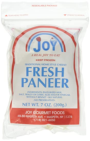 Terrific Joy Fresh Paneer Cottage Cheese 200 Grams Gm Amazon Home Interior And Landscaping Ologienasavecom
