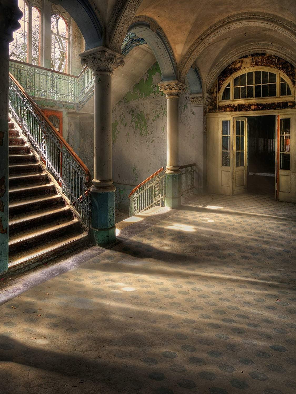 WaW Vintage Palast Escaleras Fotografía Telón Fondo Kulisse Grunge Foto Studio Fondo Retro Boda Fotoshooting: Amazon.es: Electrónica