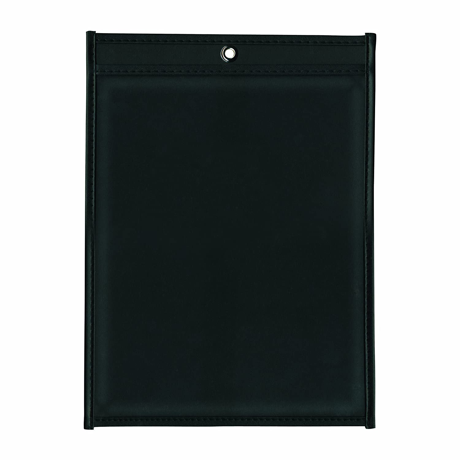 25-Count ADVANTUS Job Ticket Holders ANG1570 8.5 x 11 Inches Clear Cover Black Back