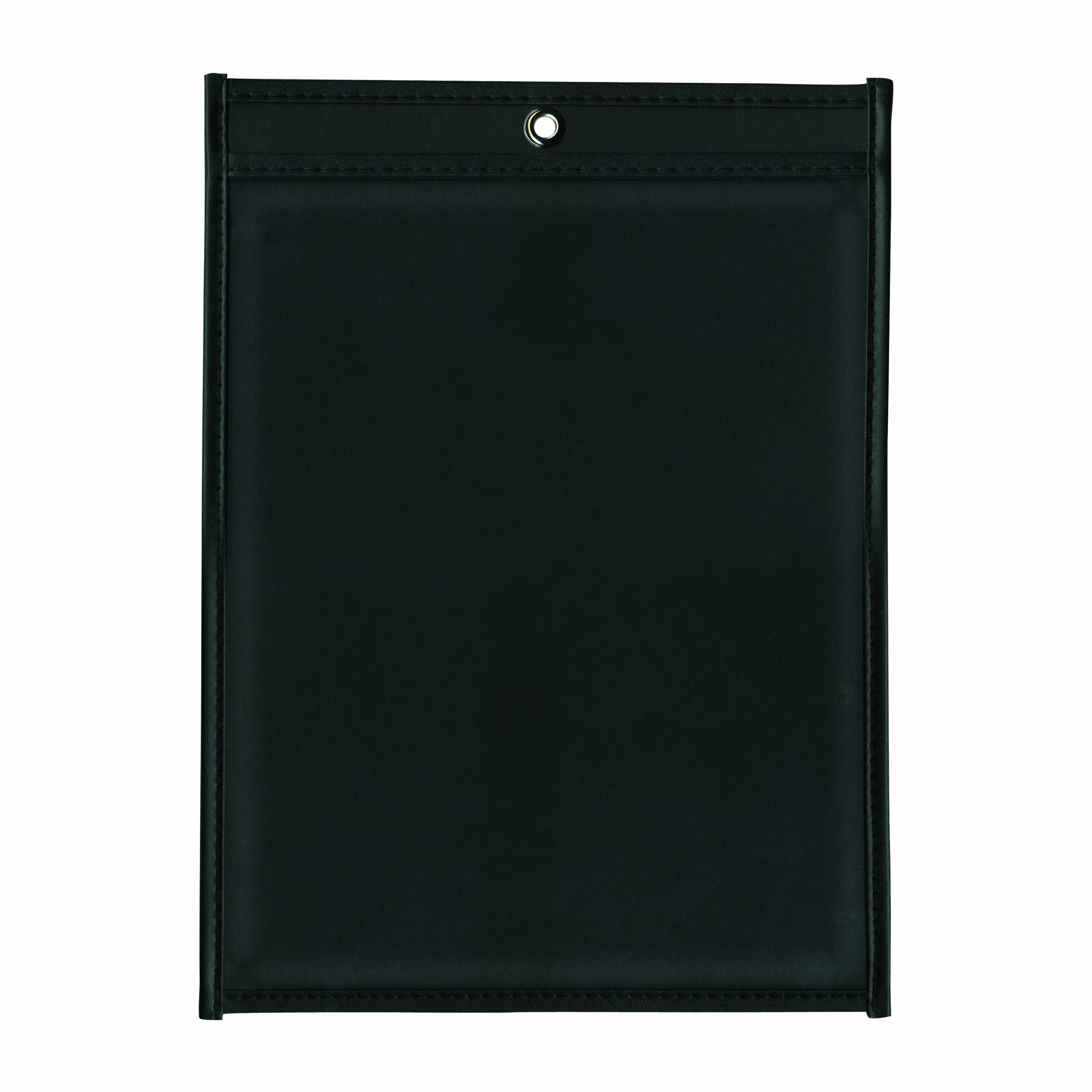 ADVANTUS Job Ticket Holders, 11 x 17 Inches, Clear Cover, Black Back, 25-Count (ANG1577)