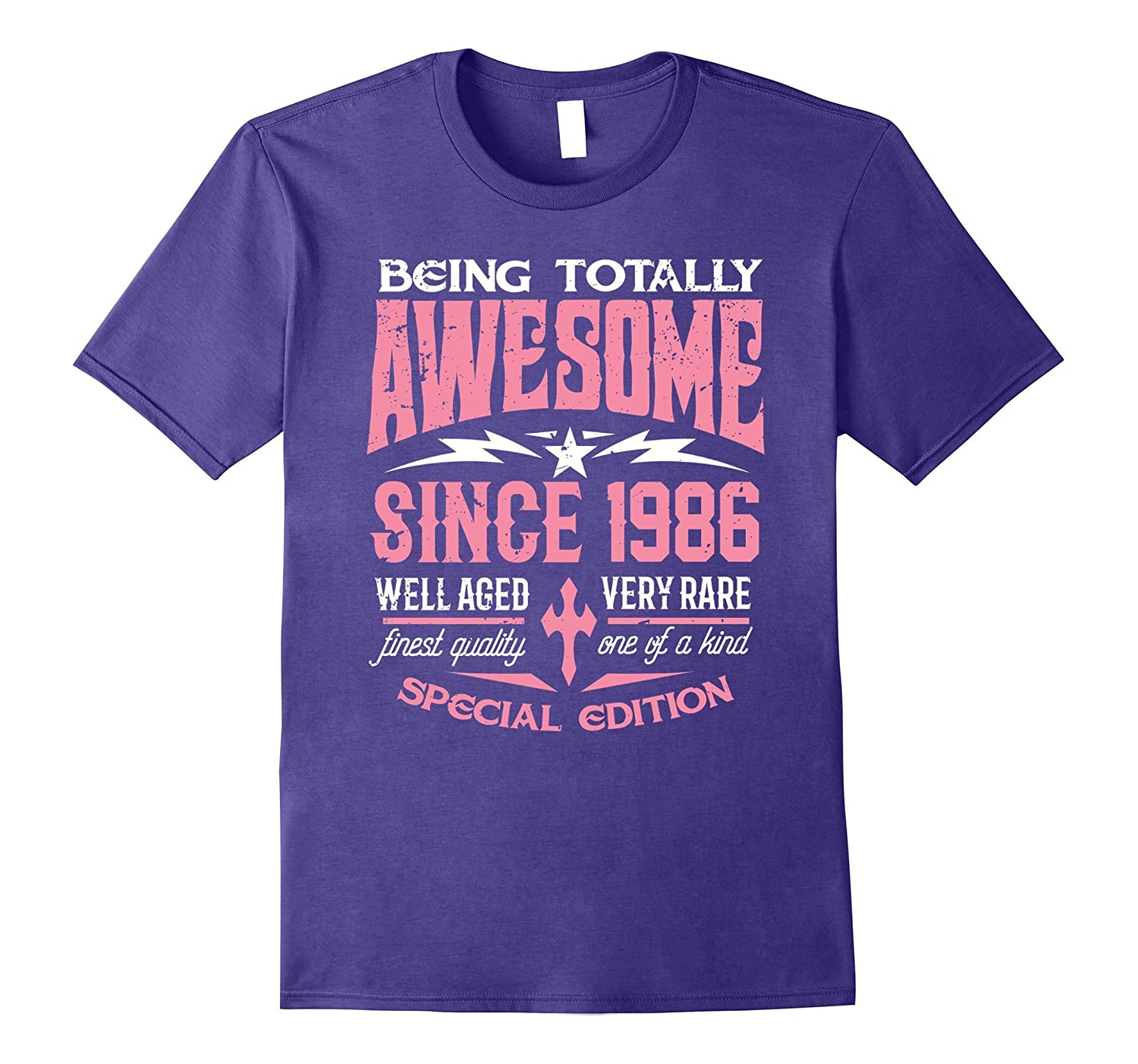 31st Birthday Gift T-Shirt Awesome Since 1986 Shirt-Art