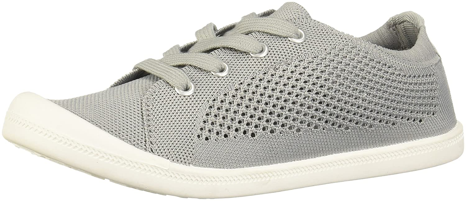 Madden Girl Women's Bailey-k Sneaker B07757D33F 7 B(M) US|Grey Fabric
