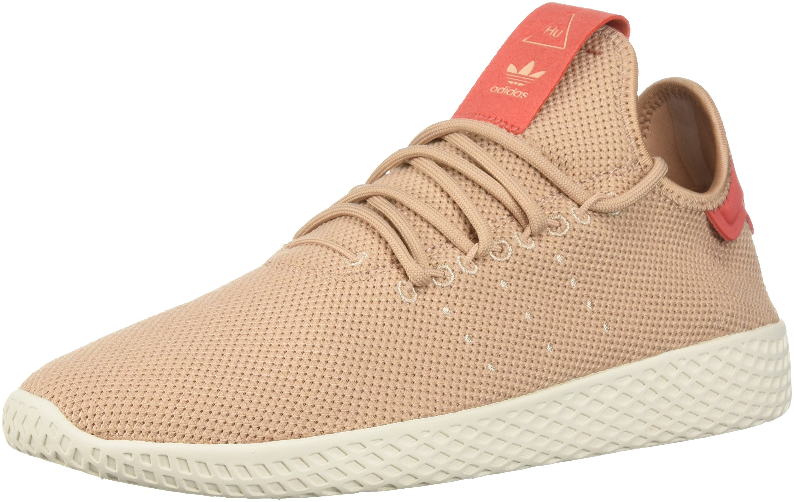 Adidas Kids' Pw Hu C Tennis Shoe,Carbon/Carbon/Chalk White,8 Medium US