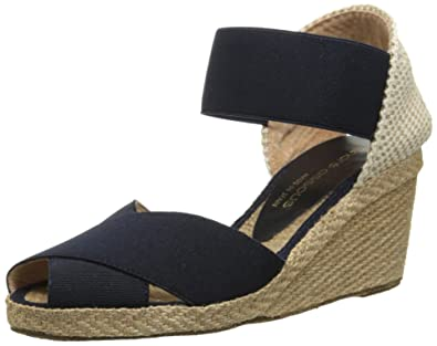 Excellent Fashion women andre assous erika mid wedge sandals