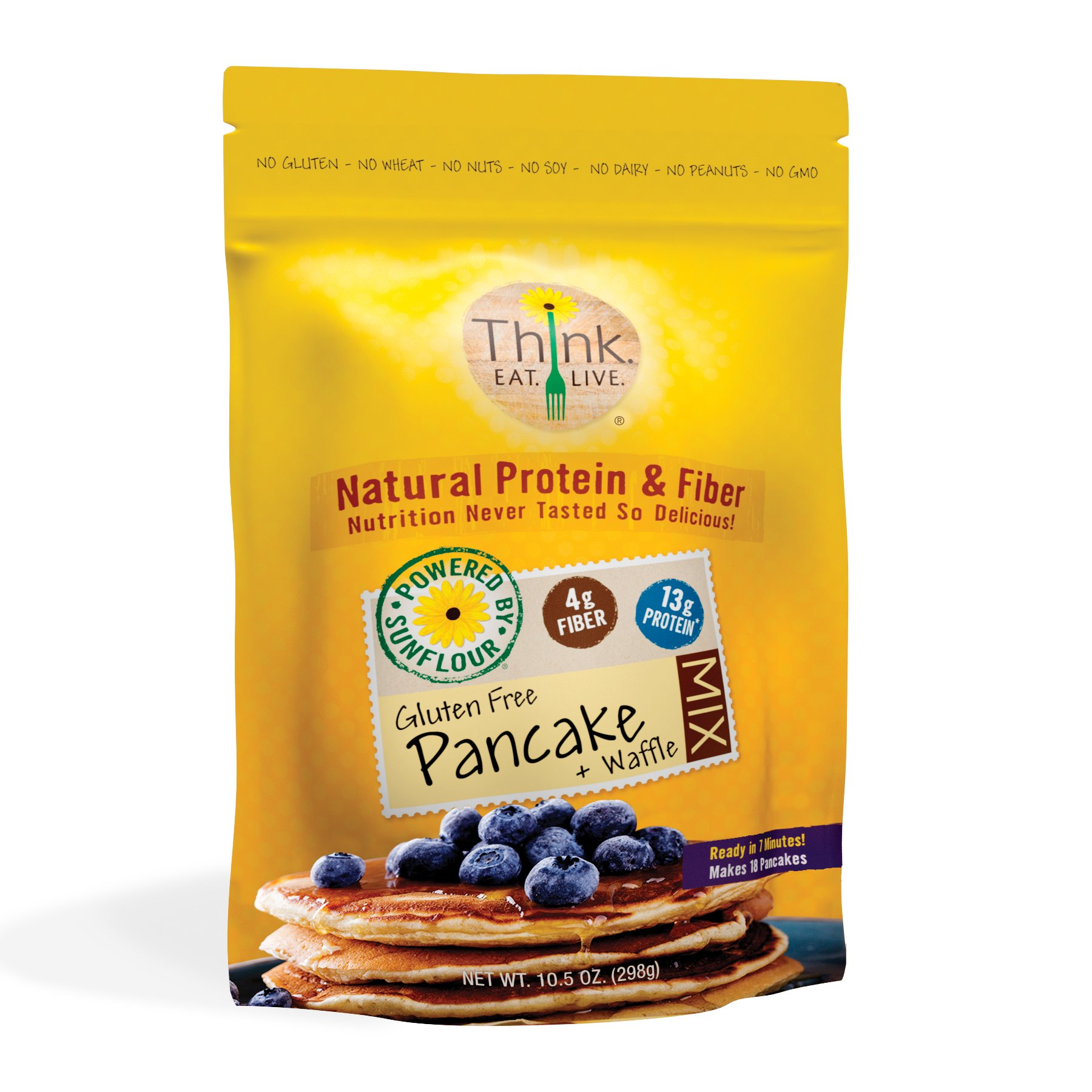 Think.Eat.Live. SunFlour Pancake & Waffle Mix by Think.Eat.Live.