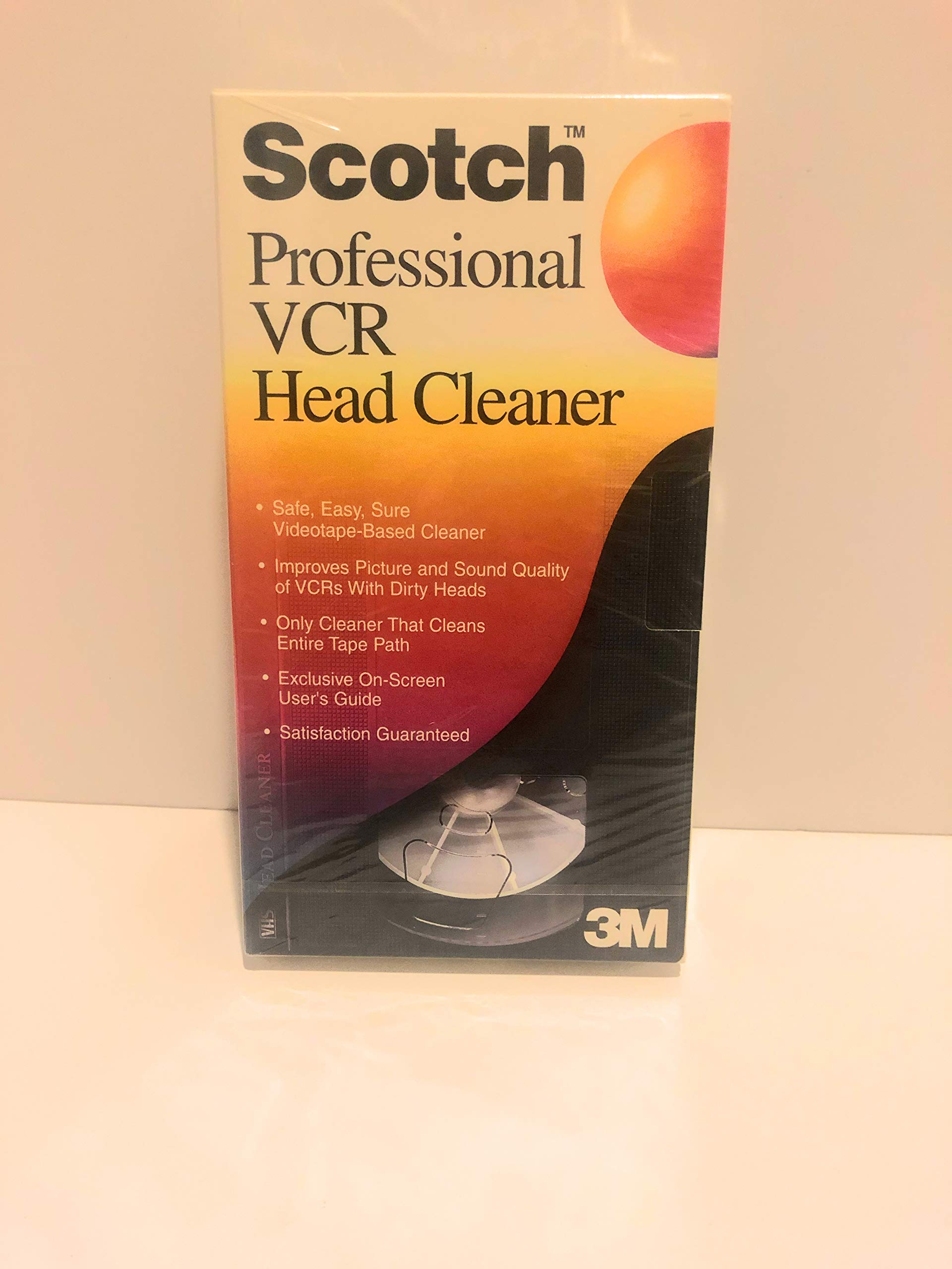 Scotch VCR Head Cleaner Plus by Scotch
