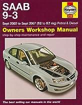 saab 9 3 petrol and diesel service and repair manual 2002 to 2007 rh amazon com 2002 saab 9-3 owner's manual Service Manuals