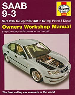 saab 9 3 service and repair manual 02 07 haynes publishing rh amazon com 2005 saab 9-3 convertible owners manual 2005 saab 9-3 2.0t owners manual
