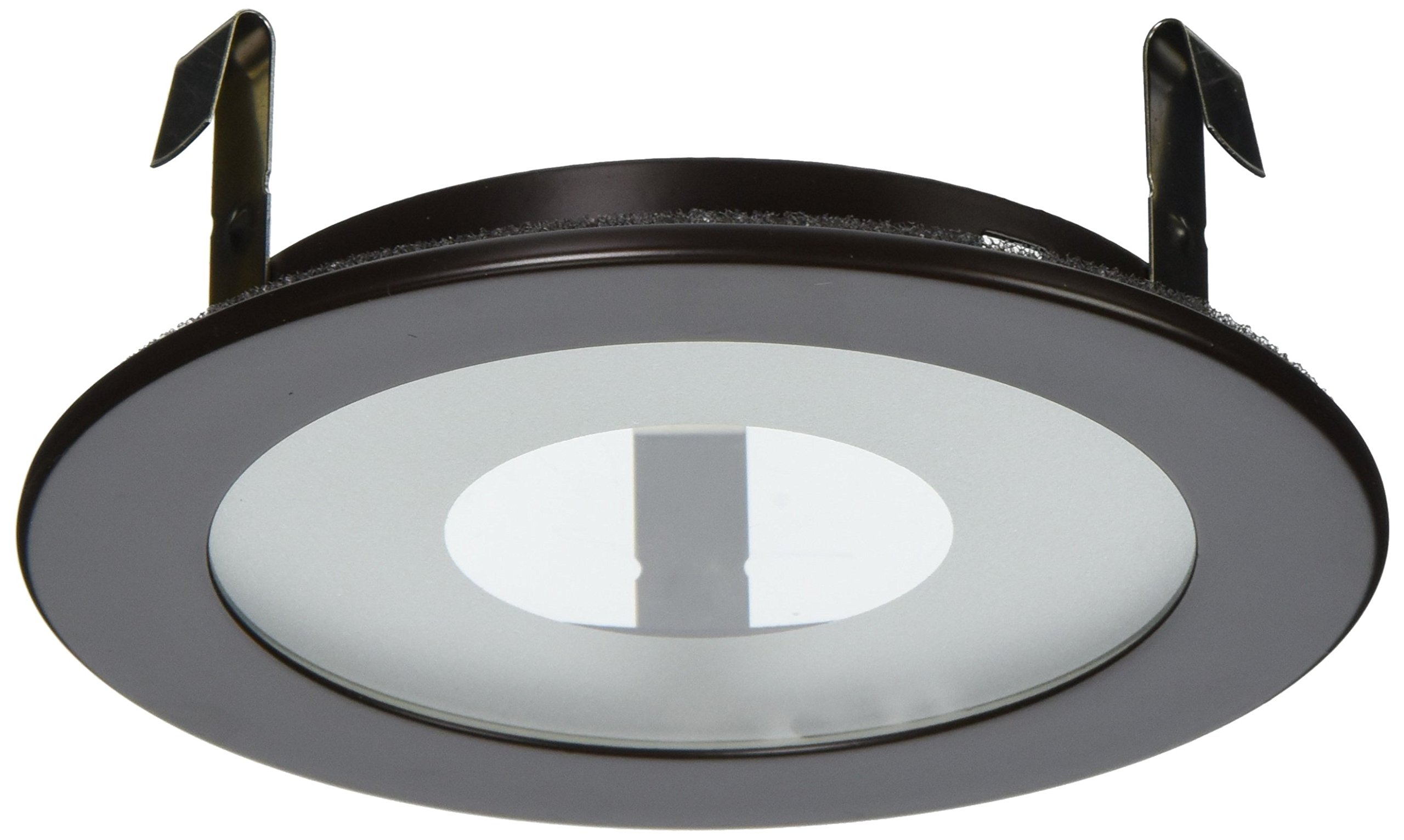 "Elco Lighting EL915BZ 4"" Shower Trim with Frosted Pinhole Glass - EL915 by Elco Lighting (Image #1)"