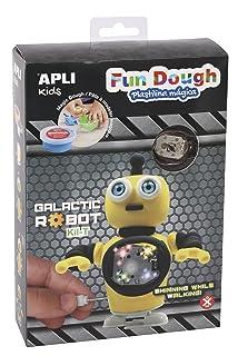 Apli–14492kil-t Fun Dough Walk And Light up Robot Craft Kit