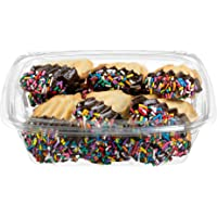 Italian Cookies | Fancy Bakery Cookies | Gourmet Cookies | Perfect for Birthdays, Holidays & all Occasions | Dairy, Nut & Soy Free | 6 oz Stern's Bakery (Italian Fancy Cookies)