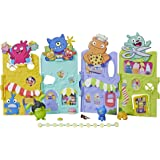 UglyDolls - Uglyville Unfolded Main Street Playset inc 3 Figures - Portable Tote - Kids Toys - Ages 4+