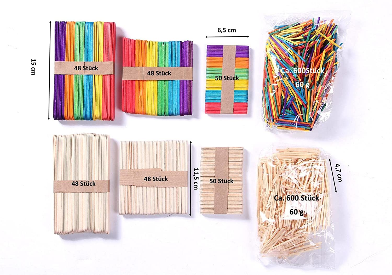 Aus Holz Set Von 6 Stück Sortiert Lesezeichen Tiere 11 Cm E