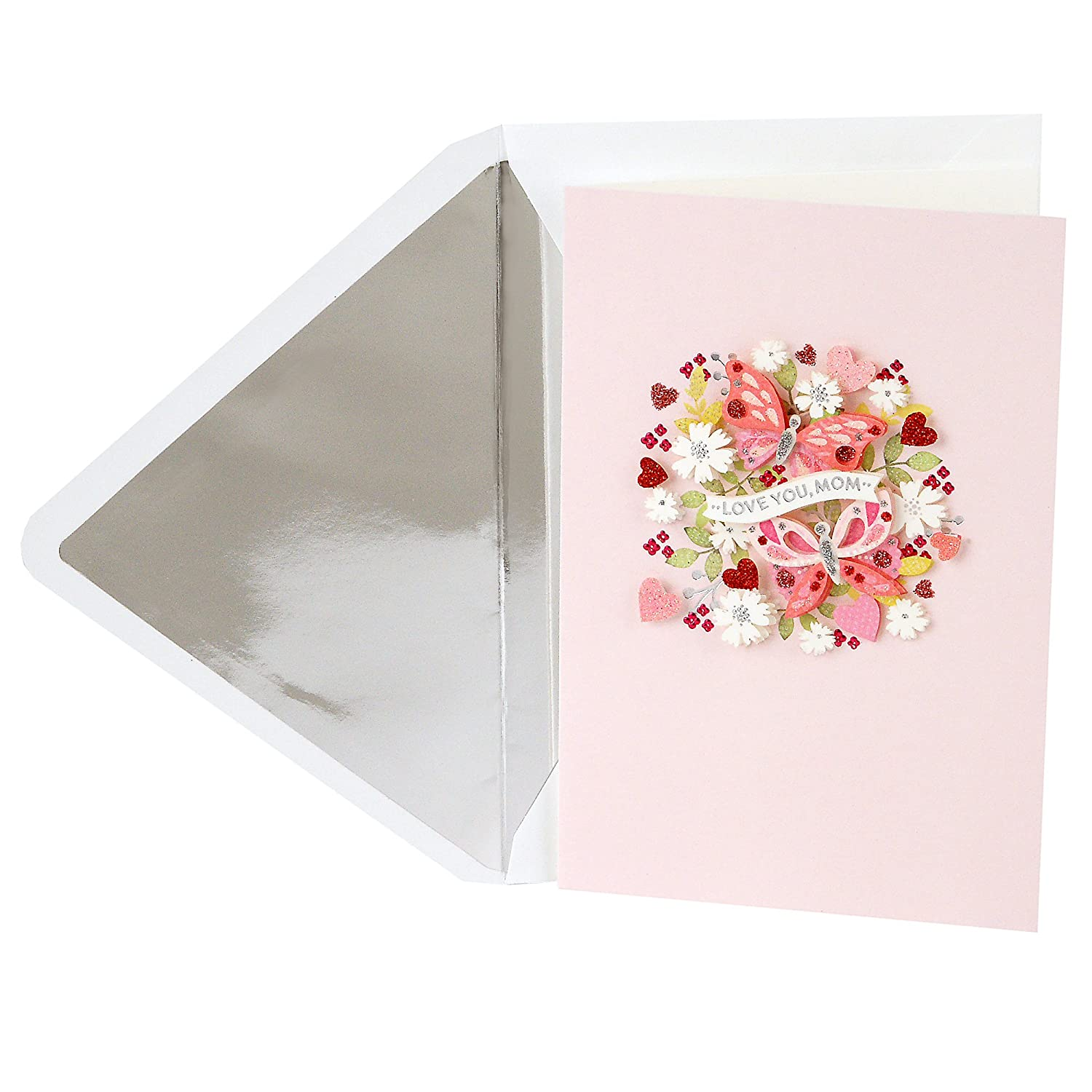 Hallmark Signature Mothers Day Card Watercolor Flowers